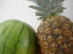 Watermelon & Ananas! (ilnaz_1982) Tags: watermelon melon ananas هندوانه اناناس