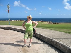 Outside El Morro