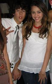 Nick Jonas and Miley Cyrus by HAPPY ANNIVERSARY M&P JONAS! HAPPY BDAY JOE!*Anna*.