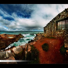 A room with a view! (tom29ger) Tags: ocean africa sky autostitch panorama cliff nat