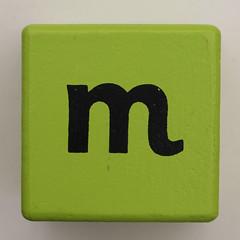 Alphabet Block m (Leo Reynolds) Tags: letter oneletter block m mmm lowercase letterblack letterblock letterset grouponeletter canon eos 40d 002sec f8 iso100 60mm 0ev xsquarex xleol30x hpexif xratio1x1x xx2008xx