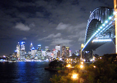 Harbour Bridge_02 (Kyaw Photography) Tags: city bridge light skyline architecture night harbour tripod sydney australia