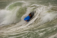 Catching the big one (Nikonsnapper) Tags: waves bodyboard mooneebeach australia2008 theloveshack project3662008april nikonsnapper