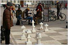 Can a pawn trouble the Queen- (zehawk) Tags: vacation game salzburg history tourism austria europe europeanvacation chess tourist queen roadside mozart pawn palay soundofmusic austriaphotos zehawk