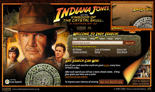 Indiana Jones Search From Microsoft