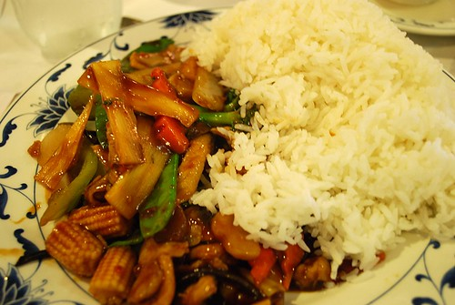 Healthy Spicy Szechuan Chicken