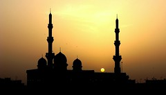 The Sunset (* Talal *) Tags: sunset worship place islam religion pray uae mosque arab muslims masjid  talal          flickrbestpics
