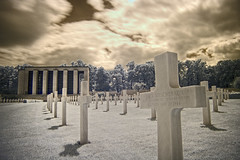 cemetary-ir2 (chubbster) Tags: pictures cambridge light red canon geotagged ir interesting spectrum awesome cemetary may sigma explore filter american richard infrared 1020mm 2008 1020 infra allrightsreserved totally hoya r72 madingley kood huckle 720nm explored allrightsreserved 40d anawesomeshot chubbster ricpic richardhuckle