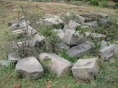 Temple stones