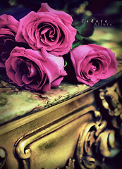 I can't find a way.. (Jadore Allure) Tags: pink blue roses green classic love vintage table bella jadoreallure