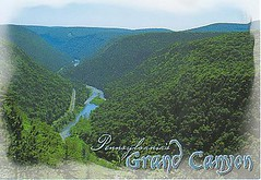 Pennsylvania Grand Canyon 2 (canno1979) Tags: pennsylvania postcrossing postcards pennsylvaniagrandcanyon