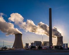 power plant morning-1 (chrisfergusonworks) Tags: powerplant southernindiana 231 spencercounty chrisferguson ricoh gxr a16module 2485 ricohgxr
