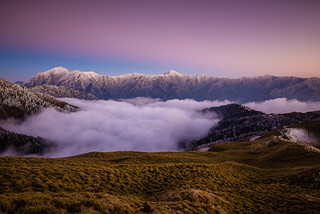 After Sunset at Mt. Hehuan