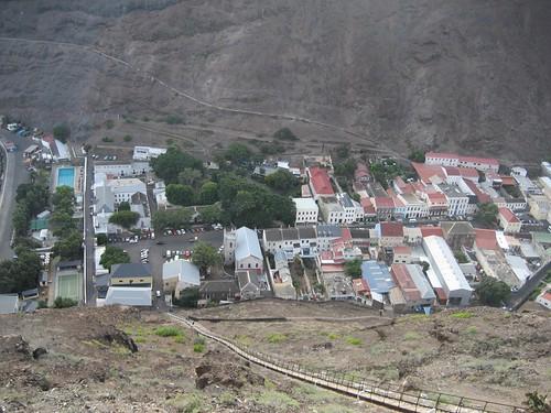 Jamestown from Ladder Hill