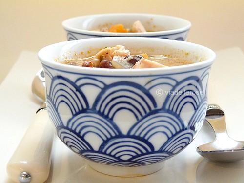 Zuppa di pollo alla Paprika  affumicata