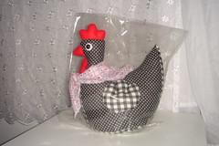 Peso porta galinha (Ateli Mari Martins) Tags: galinha artesanato porta peso tecido