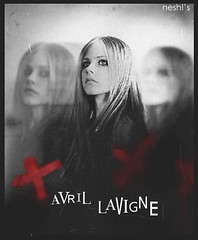 Avril Lavigne 3 (Snesh!) Tags: red happy girlfriend cross skin thing under hell best damn what goodbye he avril ending blend lavigne lullaby wasnt