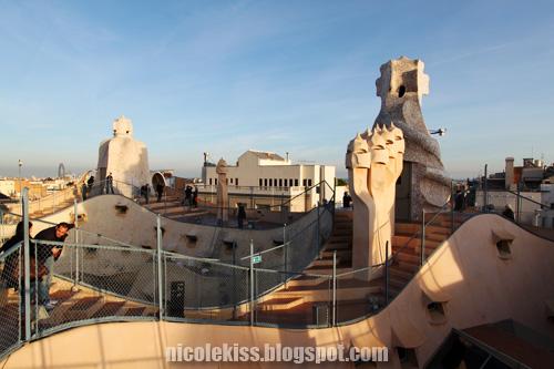 casa mila rooftop 2