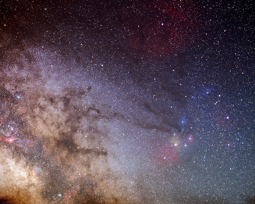 Our Milky Way Galaxy's Central Bulge by Nightfly Photography