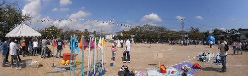 Panorama Kakogawa-The athletic meet of our small community-2