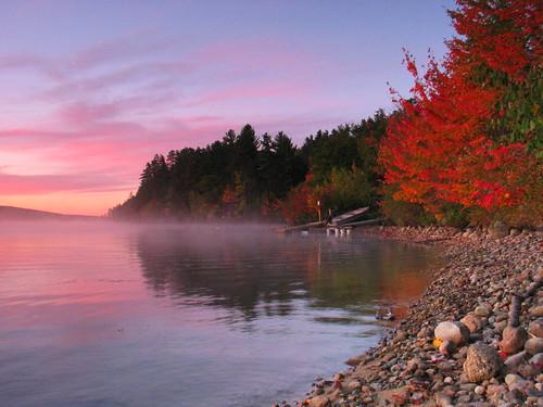 Silver Lake, Fall