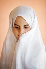 Muslim Girl (damonlynch) Tags: girl rural religious persian village veil iran muslim islam religion hijab persia modesty iranian kaj traditionaldress bakhtiari chaharmahal chaharmahalandbakhtiariprovince whitecovering