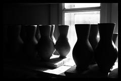jugs lined up (wunderskatz) Tags: ceramic romania pottery transylvania erdély korond corund mywinners szeckler wunderskatz