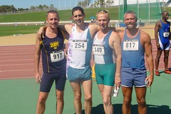 gay athletics track sydney australia relay gaygames bronzemedal gaygames2002 dgaysport 4x400meters