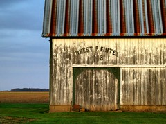 ernest f. fintel (dbthayer) Tags: roof ohio topf25 barn rural rust decay farm  interestingness94 i500