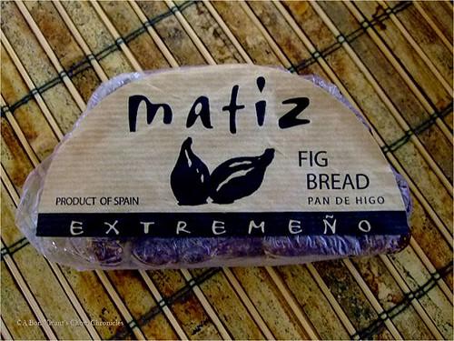 Matiz Fig bread
