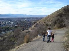 up (mooncowboy) Tags: utah y hiking hike trail brighamyoung byu brighamyounguniversity ymountain wymount