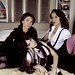 Ilene Chaiken, Mia Kirshner and Jennifer Beals of The L Word