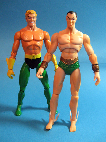Aquaman and Namor