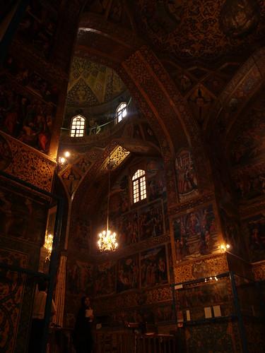 christian cathedral, isfahan, iran october 2007