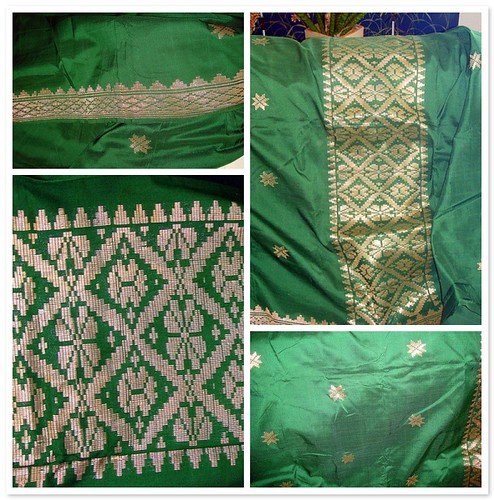 Green Songket