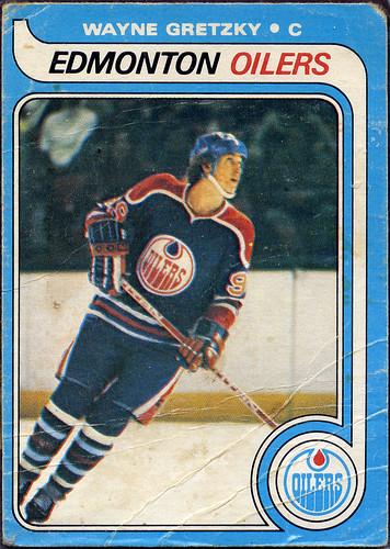 Wayne Gretzky rookie, Edmonton Oilers, 79-80 O-Pee-Chee, Hockey Card