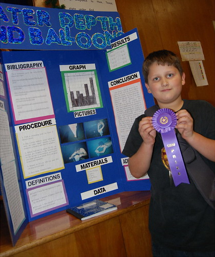 Grand Prize Winner In The Science Fair