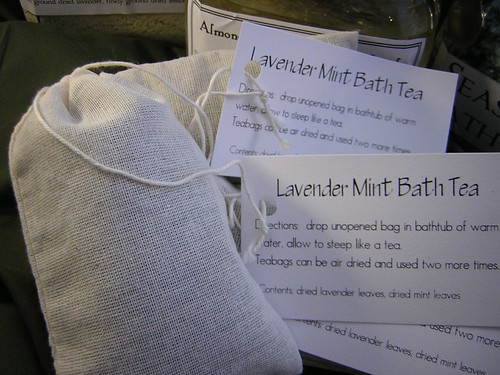 Lavender Mint Bath Tea