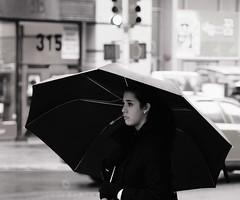 """""""rainy day is b*tch"""", says she"""