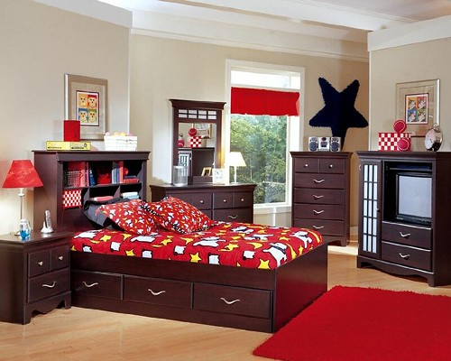 Interior kid's room, Interior kids bedroom simple natural theme