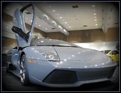 2008 Lamborghini LP640 () Tags: sf auto sanfrancisco california ca city party car downtown centro thecity autoshow exotic soire posh expensive moscone lamborghini carshow mosconecenter kalifornien sfist murcielago lambo  saofrancisco motorvehicle  lp640 californi