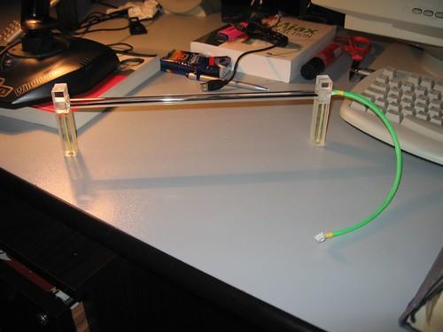 Lampada UV montata sui rialzi costruiti