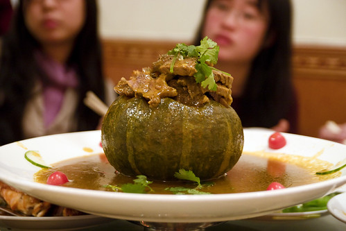 pumpkin with shortribs