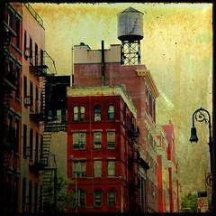 Lower East Side View (kekyrex) Tags: ny newyork architecture tenements watertanks urbanttv