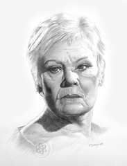 Dame Judi Dench (pbradyart) Tags: portrait pencil artwork artistic drawing expression actress soe pencildrawing artisticexpression damejudidench 10faves 35faves fineartphotos 25faves mywinners aplusphoto diamondclassphotographer flickrdiamond betterthangood flickrestrellas