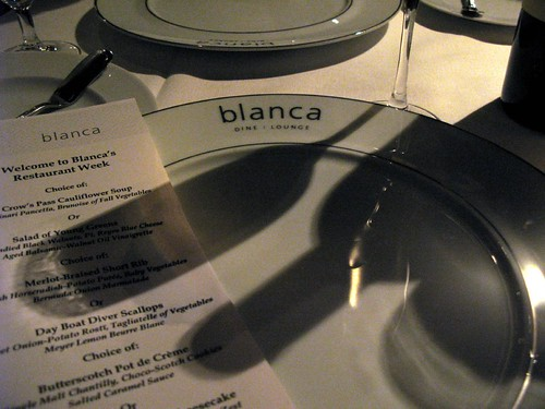 Restaurant Week at Blanca