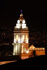 Old Town Quito at Night