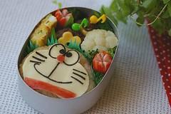 Doraemon bento (luckysundae) Tags: kawaii doraemon bento obento kyaraben