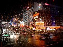Las Vegas Strip under the rain  - 1