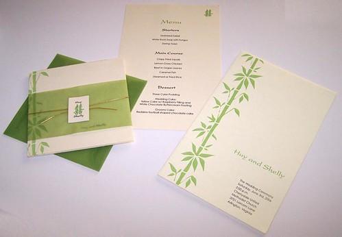 Bamboo China Garden Invitations2
